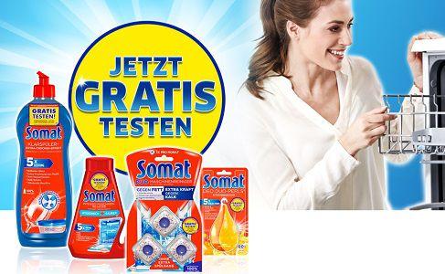 Bis zu 3 Somat Zusatzprodukte gratis ausprobieren