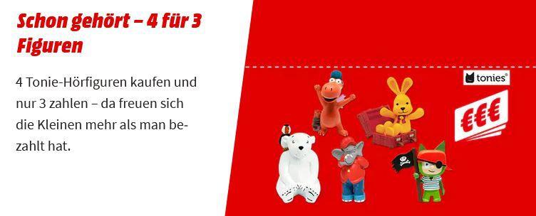 TOP! Media Markt Gutscheinheft   viele gute Angebote: z.B. 4 Tonies zum Preis von 3