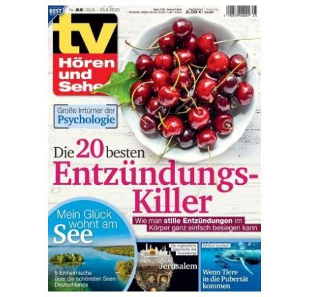 Knaller! 26 Ausgaben TV Hören & Sehen gratis statt 59,80€