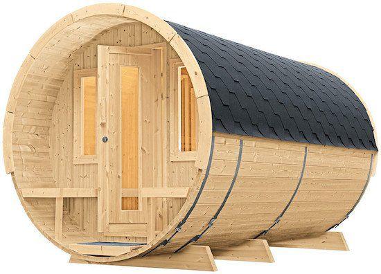 Wolff Saunafass 400 De Luxe (205 x 400 cm) ohne Ofen für 3.211,65€ (statt 4.033€)