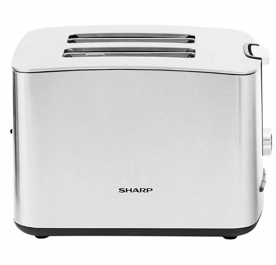 Sharp SA CT2002 Edelstahl Toast 850W für 20€ (statt 39€)