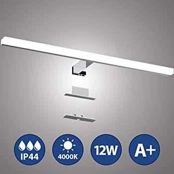 LED Spiegelleuchte mit 12W in Neutralweiß für 17,99€ (statt 36€)