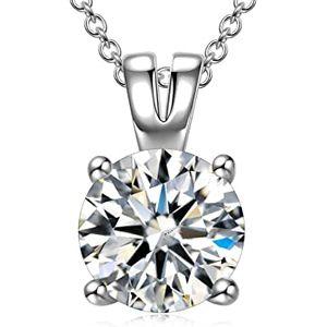 FANCI Damen Halskette aus Silber mit Zirkonia von Swarovski für 11,99€ (statt 24€)