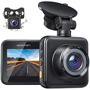 APEMAN C420D – 1080p Dashcam & Rückkamera für 37,49€ (statt 50€)