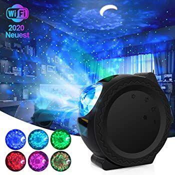 LED Sternenhimmel Projektor mit App Steuerung mit 6 Farben & verschiedene Modi für 31,79€ (statt 53€)