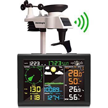 sainlogic 8in1 Funk-Wetterstation mit Außensensor für 87,27€ (statt 127€)
