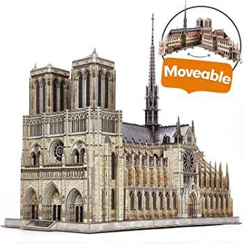 CubicFun 3D Puzzle Notre Dame mit 293 Teilen für 29,99€ (statt 60€)