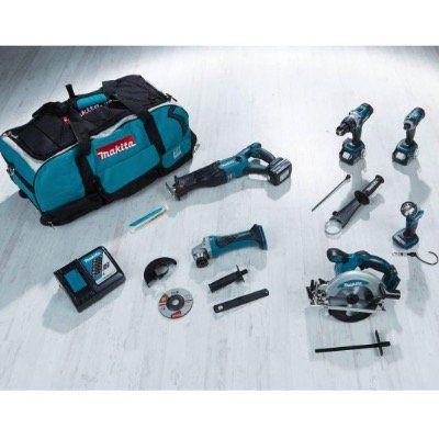Makita DLX6011 Combo-Kit mit diversen Geräten für 549,92€ (statt 697€)