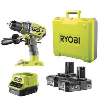 RYOBI One+ Akku-Schlagbohrschrauber R18PD7-220B mit 2x 18V Akku für 159,99€ (statt 207€)