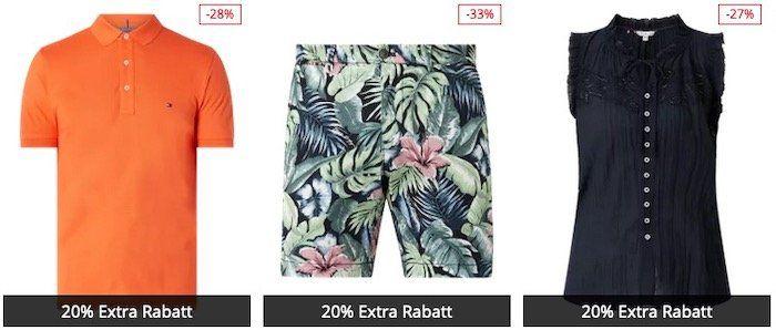 Tommy Hilfiger Sale mit bis 60% Rabatt + 20% Extra Rabatt   z.B. T Shirt für 23,99€ (statt 42€)