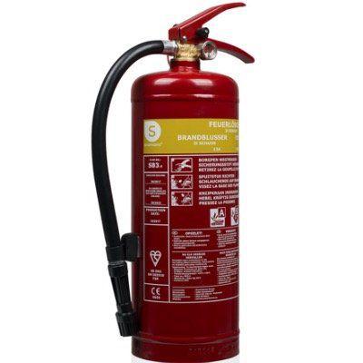 Smartwares SB3 Schaum Feuerlöscher mit 3 Litern für nur 23,90€ (statt 31€)