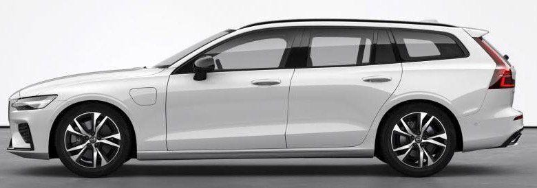 Gewerbe: Volvo V60 T6 R Design Expression Hybrid mit 340 PS für 199,29€mtl. netto   1 Jahr gratis Ladestrom