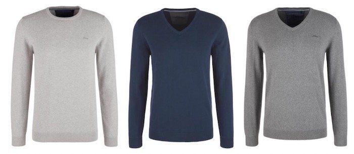 🔥 3er Pack s.Oliver Basic Pullover aus 100% Baumwolle in 8 Farben bis 3XL für 39,99€ (statt 72€)