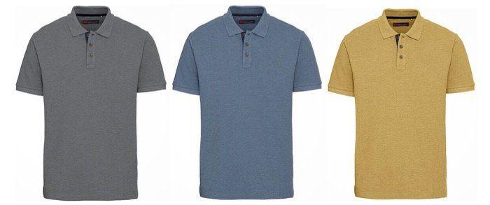 Galeria: 30% Extra Rabatt auf Klamotten   z.B. Globetrotter Poloshirts Piqué in vielen Farben für 10,23€ (statt 20€)