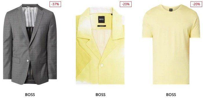 BOSS Sale mit bis 60% Rabatt + heute 25% Extra Rabatt – z.B. Hemden, Polos, Sakkos etc.