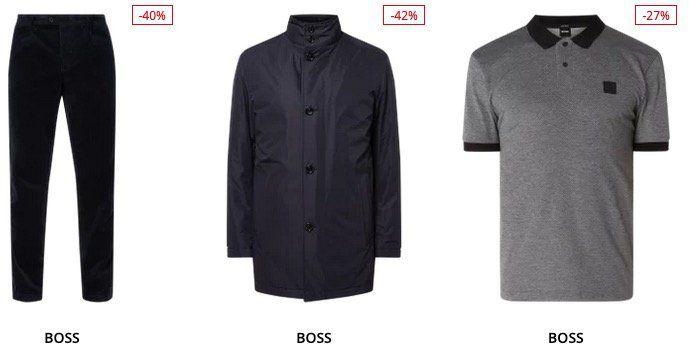 BOSS Sale mit bis 60% Rabatt + heute noch 20% Extra Rabatt – z.B. Hemden, Polos, Sakkos etc.