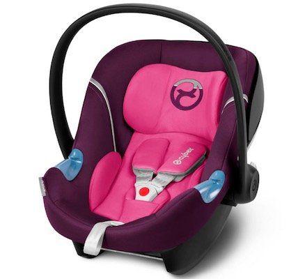cybex Gold Aton M Babyschale in Mystic Pink purple für 72,67€ (statt 116€)