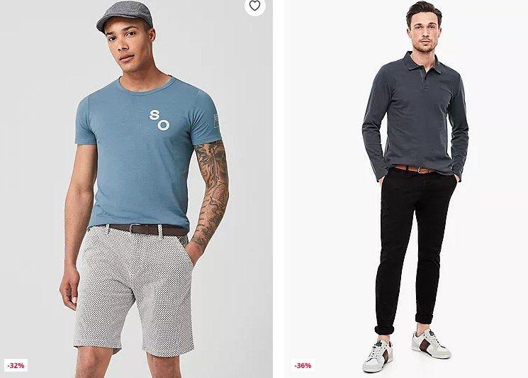 s.Oliver Jeans & Hosen Sale + 25% Gutschein   z.B. karierte Cargo Shorts für 17,24€ (statt 25€)