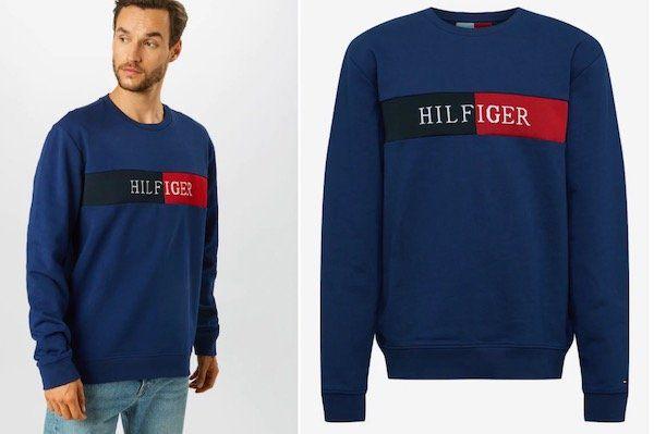 Tommy Hilfiger Sweatshirt mit Label Stickerei für 47,45€ (statt 69€)