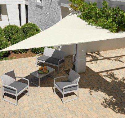 Sonnensegel Dreieck 360cm für 13,15€ (statt 22€)