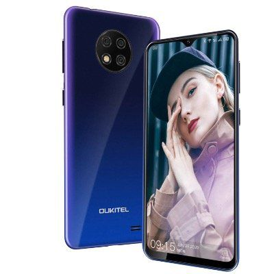 OUKITEL C19   Smartphone mit 6,49 Zoll, 16GB (256 GB erweiterbar) & Android 10 für 47,99€ (statt 80€)