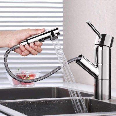 DALMO Küchenarmatur mit Einhebel und Dual Spülbrause für 29,99€ (statt 46€)