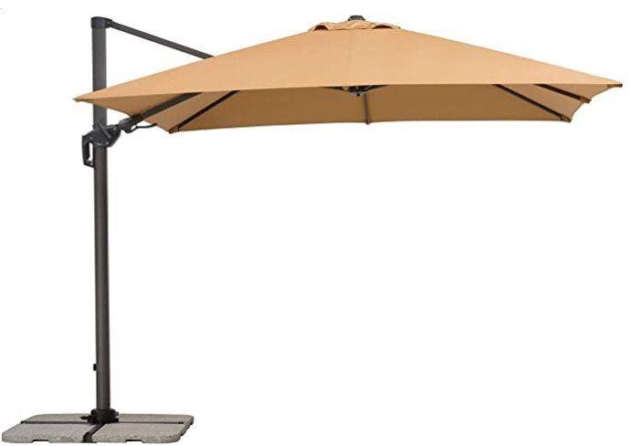 Ausverkauft! Schneider Rhodos Twist Sonnenschirm 300 x 300 cm für 279€ (statt 349€)