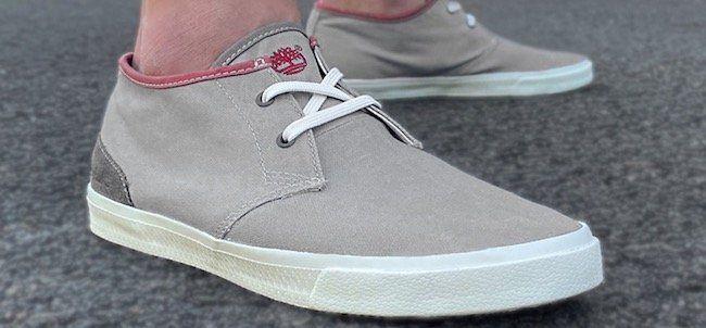 Timberland Hookset Canvas Chukka Sneaker für 28,19€ (statt 75€?)
