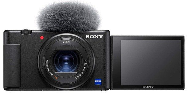 SONY Vlog Kompaktkamera ZV 1 (20,1 MP, Wi Fi, Bluetooth) für 626,95€ (statt 739€)