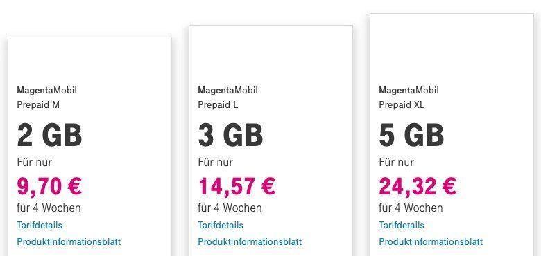 Ab morgen: Telekom Prepaid Kunden bekommen 10 faches Datenvolumen