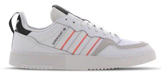 adidas Supercourt Herren Sneaker mit roten Streifen für 49,99€(statt 59€)