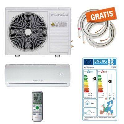 Home Deluxe Split Klimaanlage Set 9.000 BTU inkl. 2 Schläuche für 350,10€ (statt 424€)