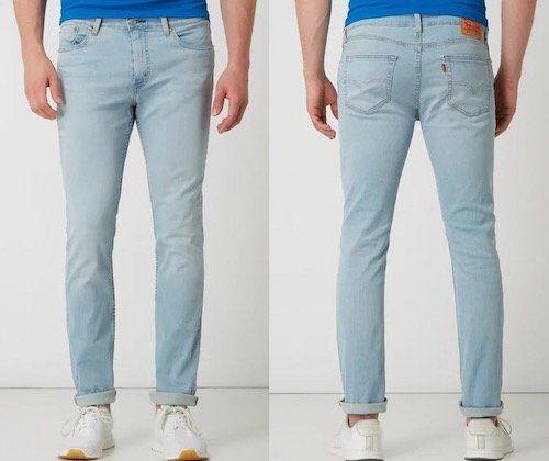 Vorbei! Levis 511 Slim Cuba Acere Cool Slim Fit Jeans mit Stretch Anteil für 37,49€ (statt 67€)