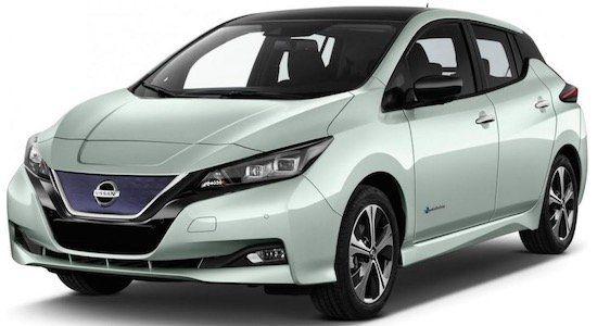 ADAC Kunden: Nissan Leaf VISIA Elektro mit 150 PS im Privat Leasing für 69€mtl.   LF: 0.39
