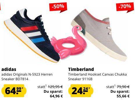 15% Rabatt bei SportSpar auf ALLES   z.B. Diadora GAME CV Sneaker ab 18€ (statt 25€)