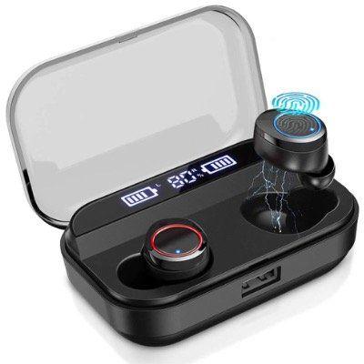 Timoom Bluetooth inEars IPX5 mit Ladehülle und Mikrofon mit Touch für 23,49€ (statt 47€)