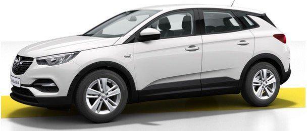 Gewerbe: Opel Grandland X Edition 1.2 mit 131PS für 138€ mtl.   LF 0,65 (auch Einzelfirmen oder Freiberufler)