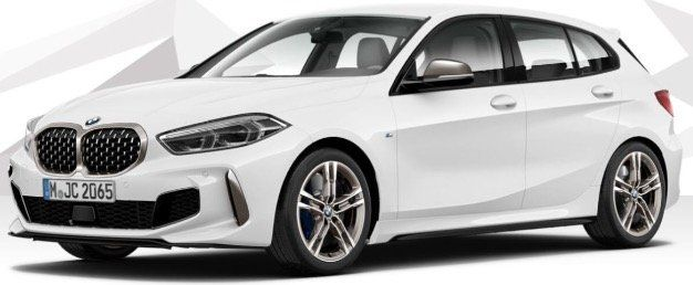 Privat  & Gewerbe: BMW M135i xDrive 306PS in Alpin Weiß für 336€ mtl.   LF 0,74