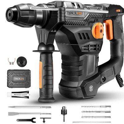 TACKLIFE Professional Bohr  und Abbruchhammer TRH01A inkl. Bohrer  & Meißelset für 79,99€ (statt 100€)
