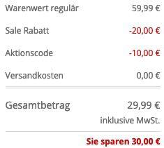 Ausverkauft! JOOP! Geldbörse Cosma mit Logo Muster für 29,99€ (statt 57€)