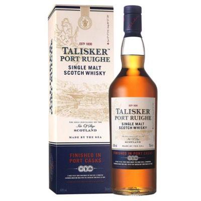 Wieder da! Talisker Port Ruighe Single Malt Scotch Whisky (1x 0,7 Liter) ab 31,41€ (statt 37€)