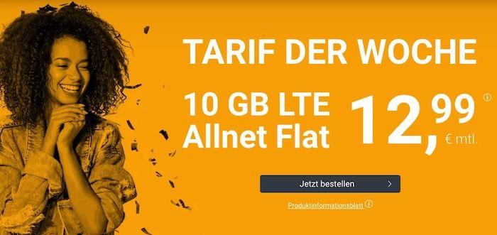 winSIM o2 Allnet Flatrate mit fetten 10GB LTE für 12,99€+ monatlich kündbar möglich