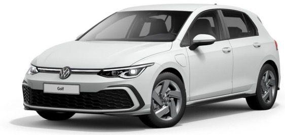 Junge Fahrer: VW Golf GTE 1,4 eHybrid in Pure White mit 245PS für 78€ mtl.   LF 0.21