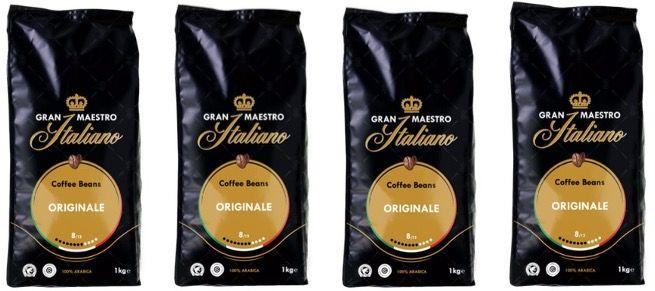 4x Grand Maestro Italiano Kaffeebohnen kaufen   aber nur 3 bezahlen