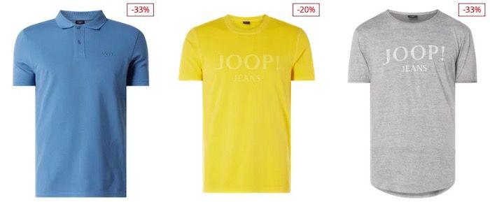 JOOP! Sale mit bis 60% Rabatt + 25% Extra Rabatt   z.B. JOOP! Poloshirt für 37,49€ (statt 70€)
