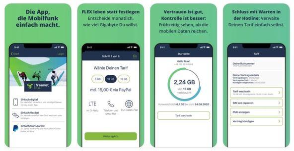 *bis 5.11. keine Grundgebühr* 🔥 Freenet Flex: monatlich kündbare Allnet Flat im Vodafone Netz mit z.B. 5GB LTE für 10€ mtl.