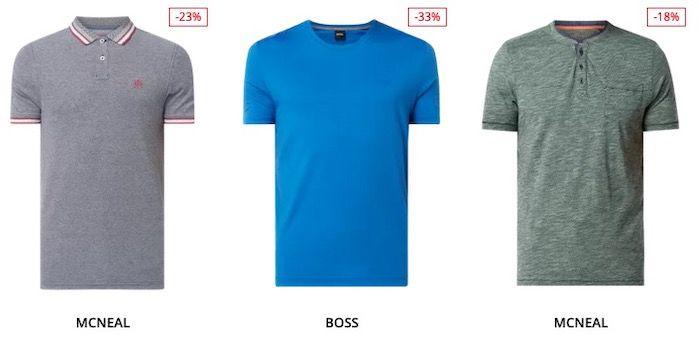 Großer T Shirt Sale bis 70% Rabatt + 15% Extra Rabatt   z.B. Tom Tailor T Shirts ab 8,49€