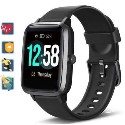 Blackview Smartwatch mit Tracker mit Pulsmesser für 19,49€ (statt 39€)