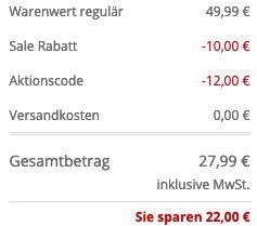 Boss Badehose mit Logo Stickerei für 27,99€ (statt 42€)   durch 30% Extra Rabatt