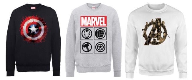 Marvel Sweatshirts für Damen und Herren für je 16,99€ (statt 26€)